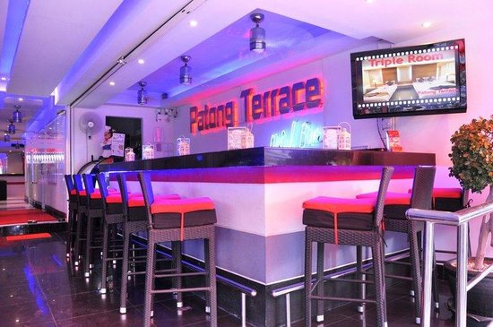Patong Terrace Boutique Hotel: Patong Terrace Hotel bar