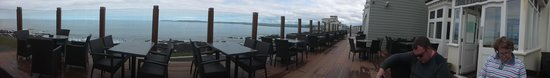 The Pier House: views across the bay