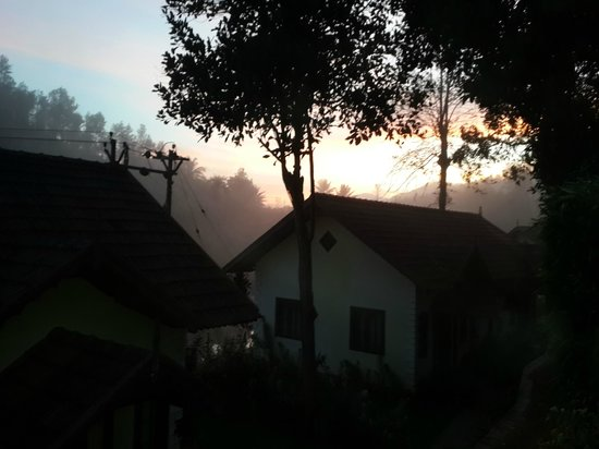 Springdale Heritage: a view from room, early in the morning
