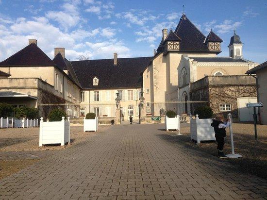 Chateau de Pizay : l'entrée