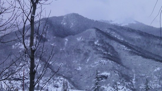 Boutique Hotel Casanova Inn: mountains