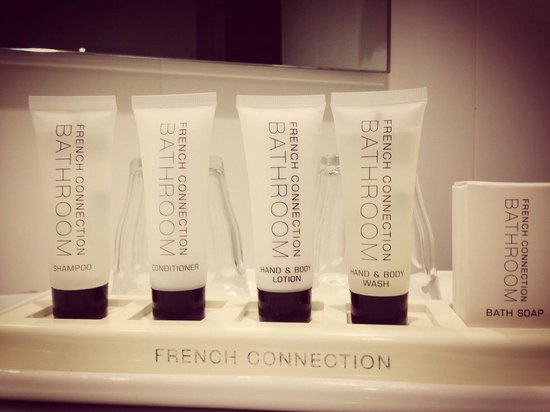 Rendezvous Hotel Sydney Central : French connection for bath soap!