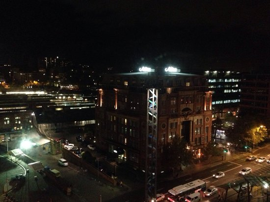 Rendezvous Hotel Sydney Central : The view!