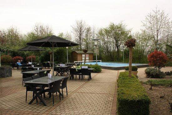 Novotel Maastricht : garden