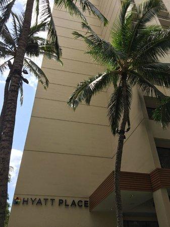 Hyatt Place Waikiki Beach : 外観