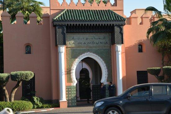 La Mamounia Marrakech: l'entrée