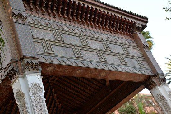 La Mamounia Marrakech: Détails du décor extérieur