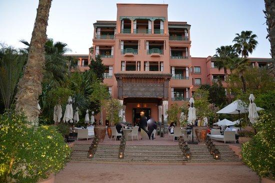 La Mamounia Marrakech : la vue du jardin