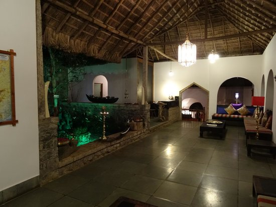 Shalimar Spice Garden - An Amritara Private Hideaway: The pleasant lounge area