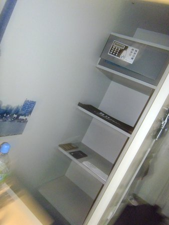 Rilano 24/7 Muenchen City: Room safe (Free)