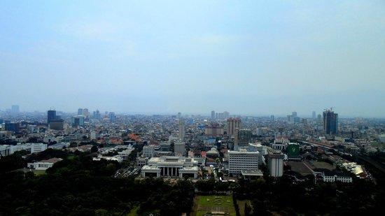 National Monument (MONAS) : Jakarta city