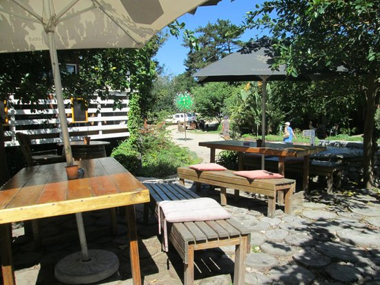 Timberlake Organic Village: Ideal place to have lunch