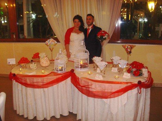 Villa Marina: Gli Sposi alla White Table