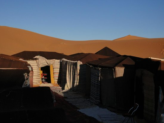 Hotel Kasbah Mohayut: The overnight tent camp