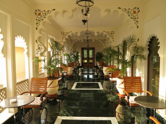 Trident Udaipur: Inside the hotel