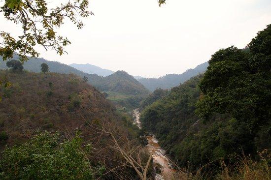 Borra Caves : Gosthani River