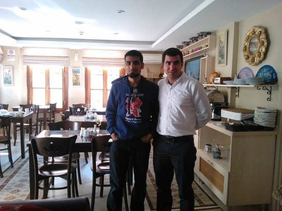 Hotel Sultan House: Ramazan and me- brilliant hospitality at Sultan House