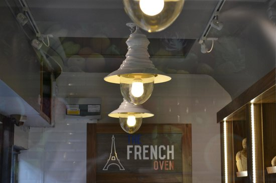 The French Oven: All lit up ready for a busy day 6 days a week