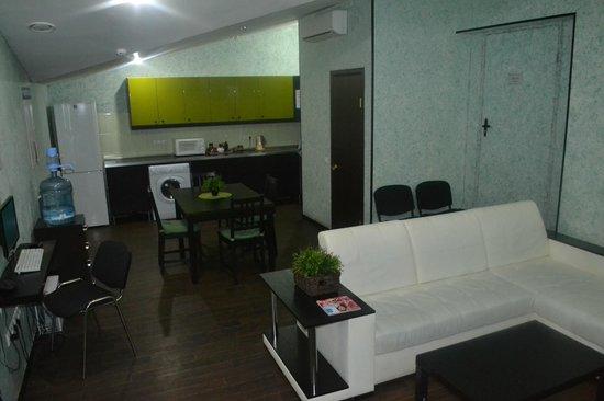 Tipo Hostel : Общая зона_кухня