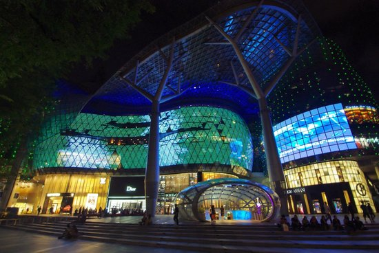 The Quincy Hotel by Far East Hospitality: Entrance to Orchard MRT station at ION Orchard Mall