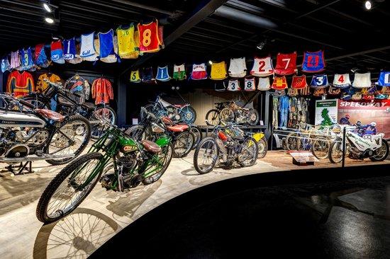 Haynes International Motor Museum: Motorcycle Mezzanine