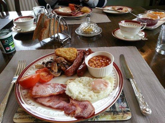 New Hall Farm Bed & Breakfast: Full English Breakfast