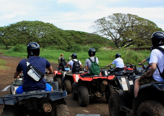 Kualoa Ranch ATV Tour-Day Tours