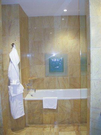 Regent Warsaw Hotel: The bath tub area