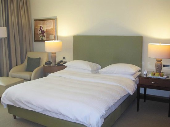 Regent Warsaw Hotel: A comfortable bed