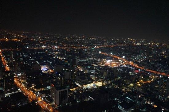 Baiyoke Sky Hotel: View from revolving deck