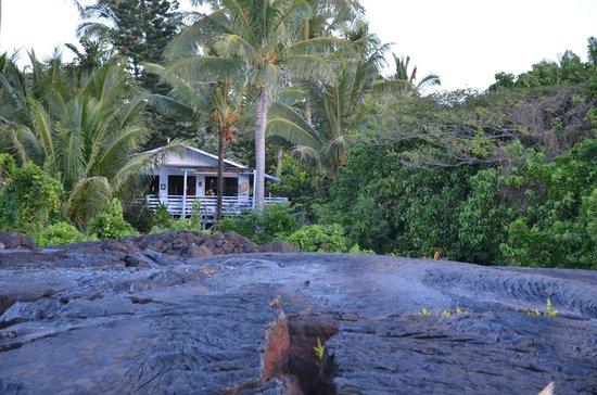 Ma'ukele Lodge: the house