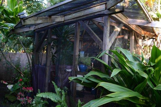 Ma'ukele Lodge: the outdoor bath