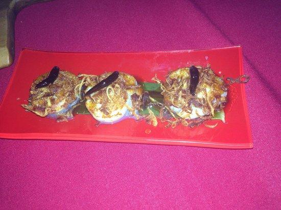 Red Opium: Spicy Scollops - Amazing!