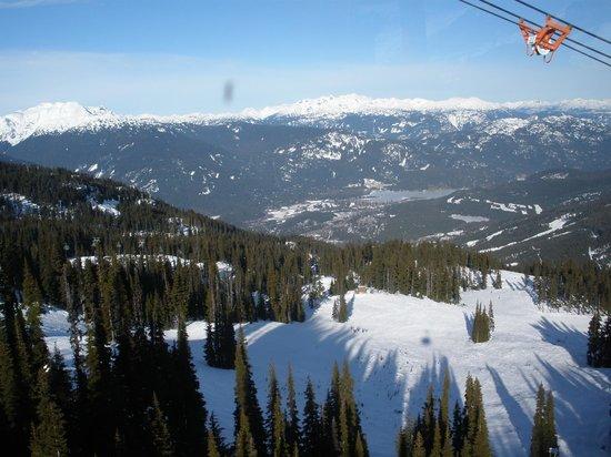 Peak 2 Peak Gondola: On the Way