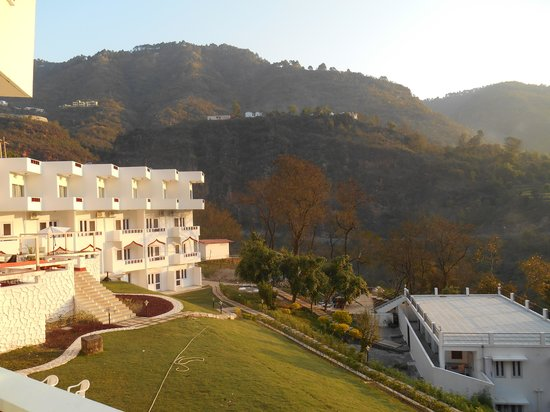 Monal Resort: View of mountains