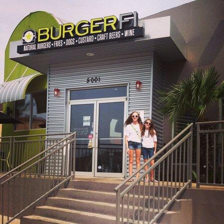 Girls rocking their BurgerFi t-shirts! South Padre Island, TX