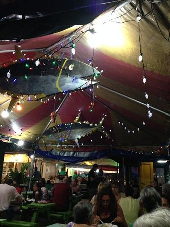 Oistin's Friday Night Fish Fry : Uncle George's tent