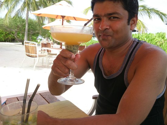 LUX* South Ari Atoll : Lunch @ Lagoon Bar