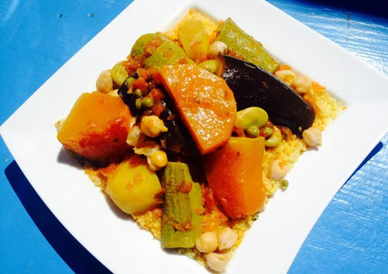 Chez Yassine : Let's try couscous on Friday!