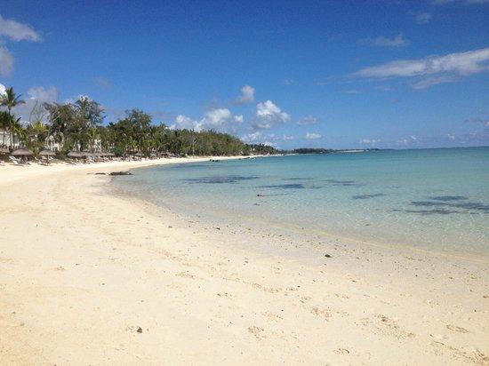 Ambre Resort & Spa: la très grande plage