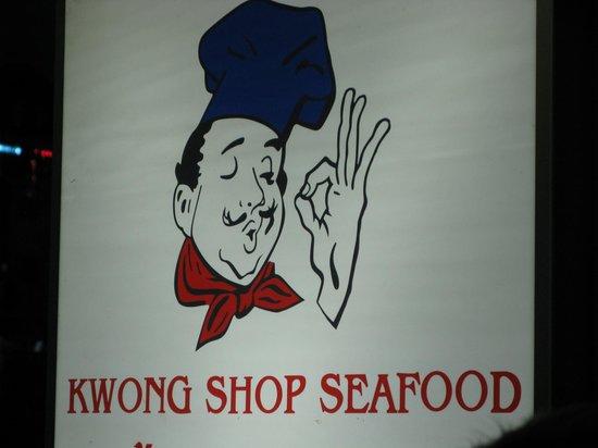 Kwong Shop Seafood betaalbaar en geweldig eten