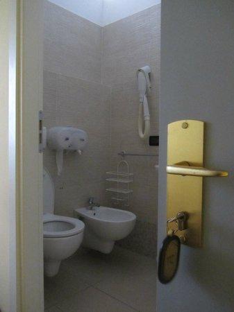 Hotel Margherita: Alles o.k. in Bad und WC