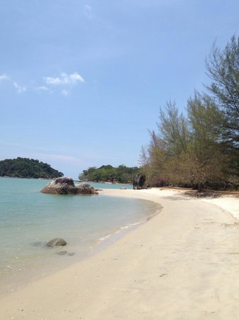 The Danna Langkawi: Beautiful beach