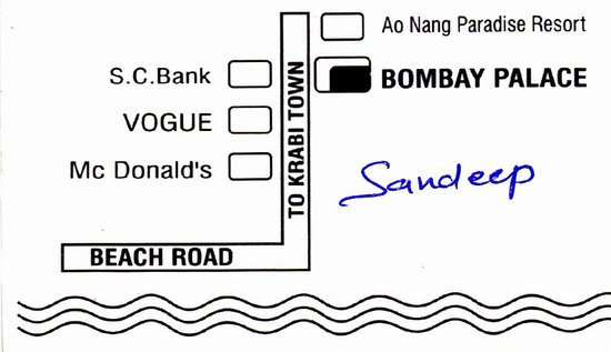Route Bombay Palace