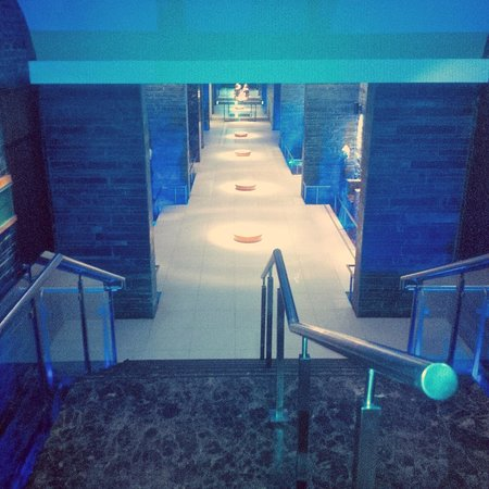 Shangri-La's Eros Hotel: Gym area
