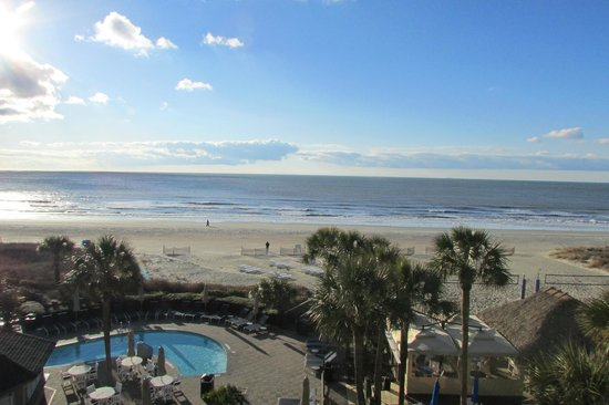 Beach house a holiday inn resort ocean view cant beat it