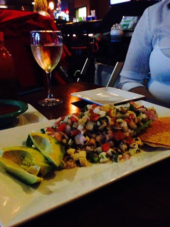 Cilantro's Grill and Cantina: Awesome Ceviche !!