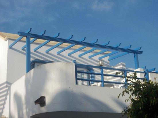 HL Paradise Island : balcon-terrasse
