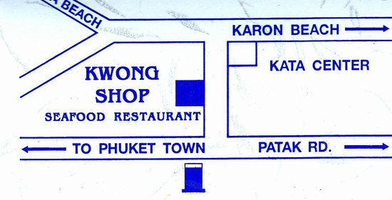 Kwong Shop Seafood: route Kwong Shop