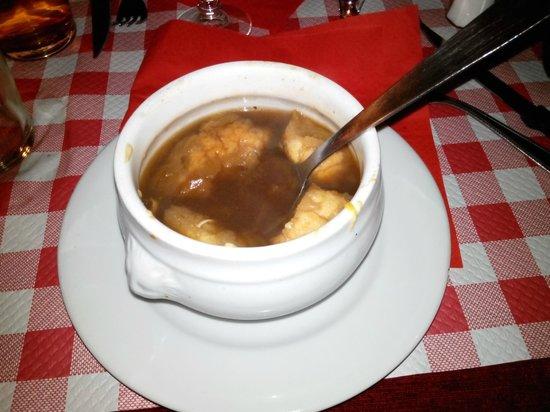 Le Marathon : Луковый суп